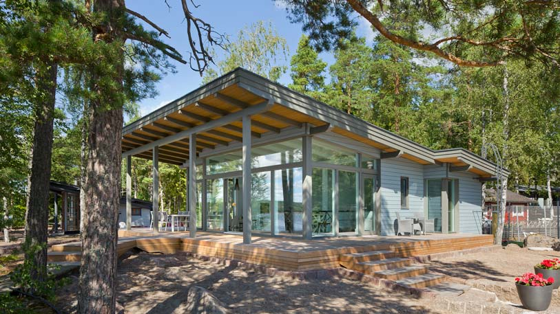 Bungalow Bouwen Prefab : Duurzaam bouwen met hout schuurwoning bouwen