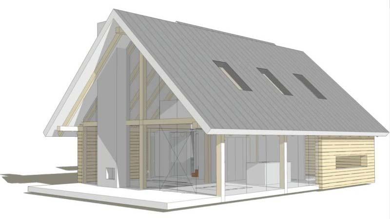 Loftwoning aanbouw 3729 schuurwoning bouwen for Zelf een huis bouwen prijzen