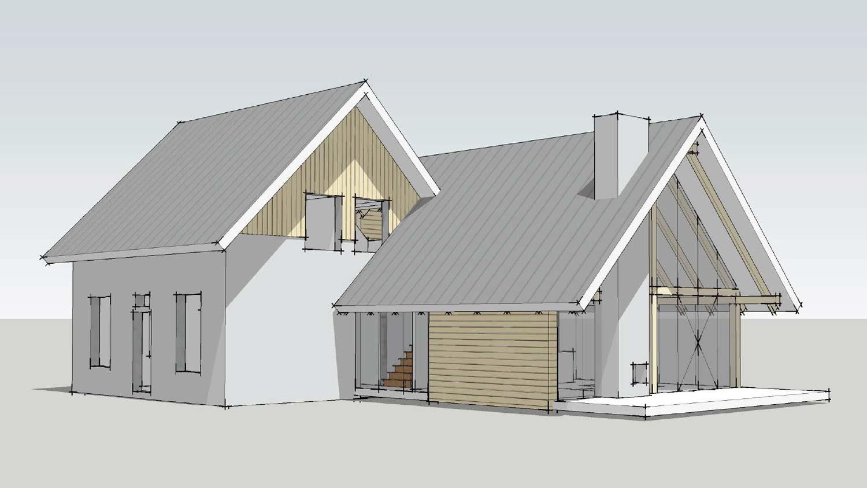 Loftwoning aanbouw 3729 schuurwoning bouwen for Huis duurzaam maken