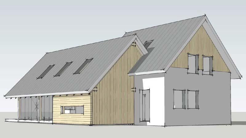 Loftwoning aanbouw 3729 schuurwoning bouwen for Energiezuinig huis bouwen