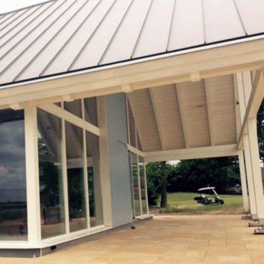 Loftwoning aan golfbaan 3690 schuurwoning bouwen for Catalogus woning bouwen